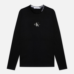 Мужской лонгслив Calvin Klein Jeans Center Monogram Black