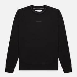 Мужская толстовка Calvin Klein Jeans Logo Jacquard Crew Neck Black