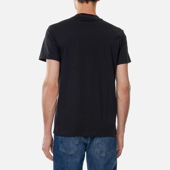 Мужская футболка Calvin Klein Jeans Logo Jacquard Black