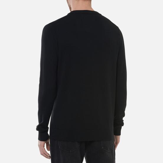 Мужской свитер Calvin Klein Jeans Monogram Chest Logo Crew Black