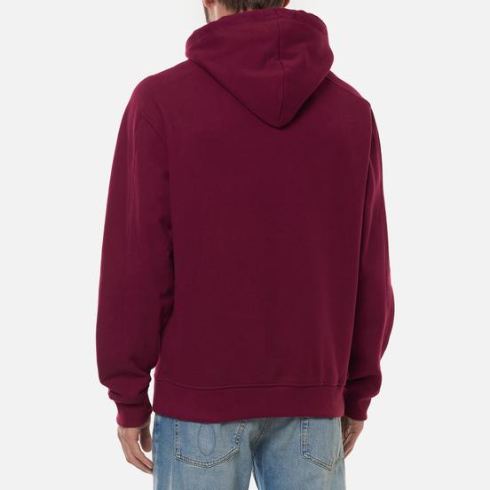 Мужская толстовка Calvin Klein Jeans Micro Branding Hoodie Dark Clove