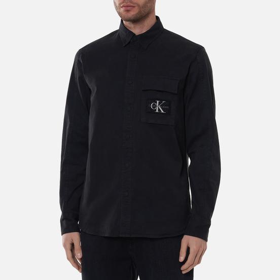 Мужская рубашка Calvin Klein Jeans Garment-Dye Wash Black