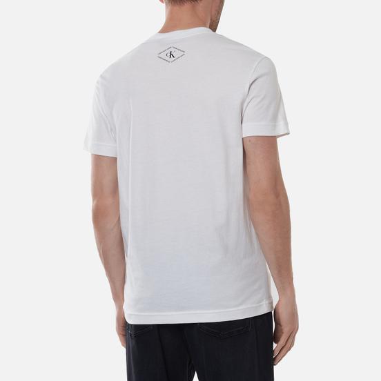 Мужская футболка Calvin Klein Jeans Urban Skate Multi Graphic Bright White