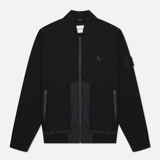 Мужская куртка бомбер Calvin Klein Jeans Technical Black