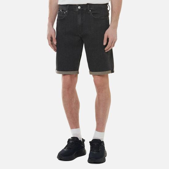 Мужские шорты Calvin Klein Jeans Regular Denim Black