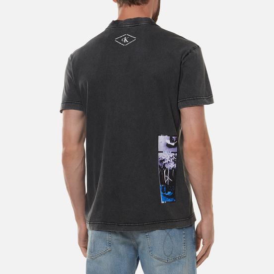 Мужская футболка Calvin Klein Jeans Washed Skater Photoprint Black