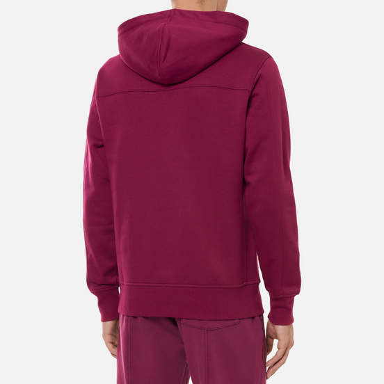 Мужская толстовка Calvin Klein Jeans Off Placed Iconic Hoodie Dark Clove