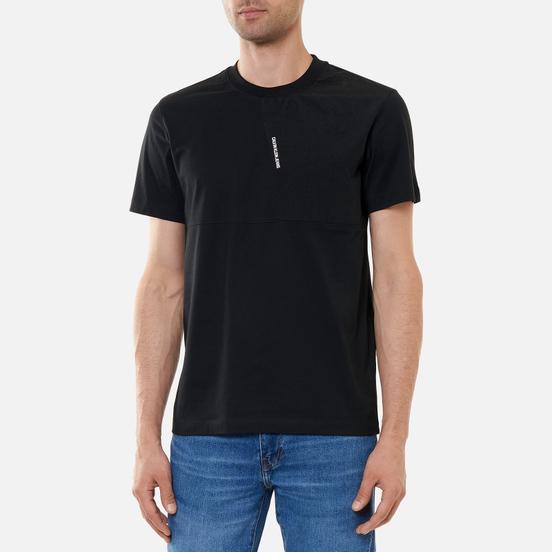 Мужская футболка Calvin Klein Jeans Mixed Media Black