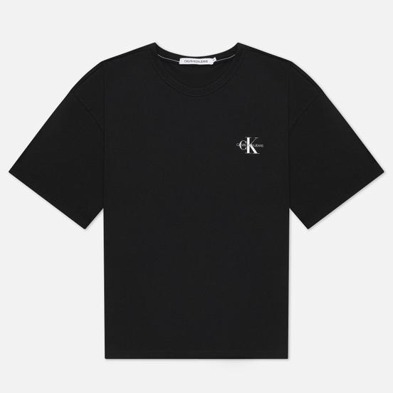 Мужская футболка Calvin Klein Jeans Monogram Modern Relaxed Fit Black