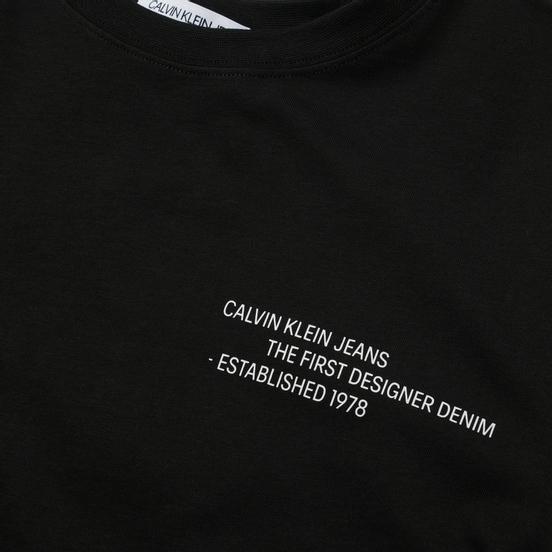 Мужская футболка Calvin Klein Jeans Reptile Back Graphic Black