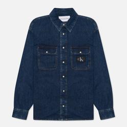 Мужская рубашка Calvin Klein Jeans Oversized Denim Denim Light