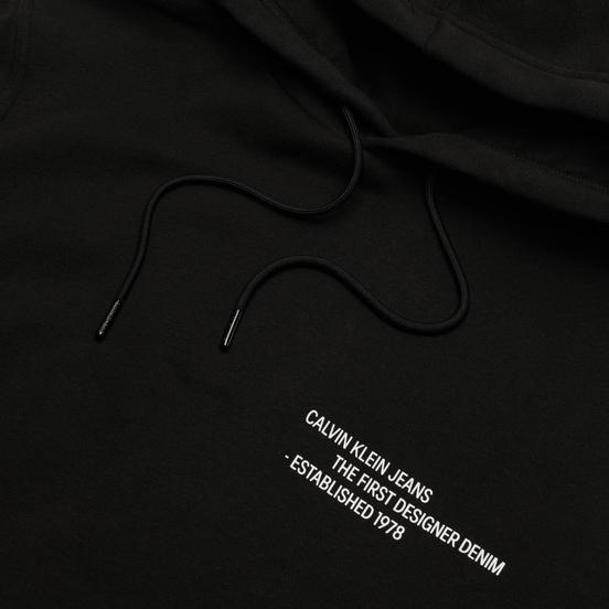 Мужская толстовка Calvin Klein Jeans Reptile Graphic Hoodie Black