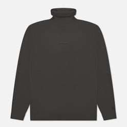 Мужская водолазка Calvin Klein Jeans Micro Branding Roll Neck Gray Pinstripe