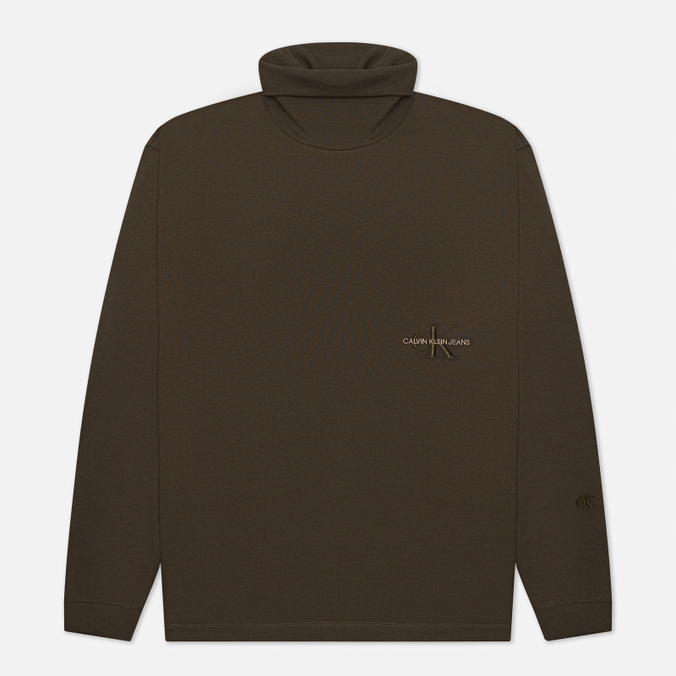 Мужская водолазка Calvin Klein Jeans LS Off Placed Roll Neck