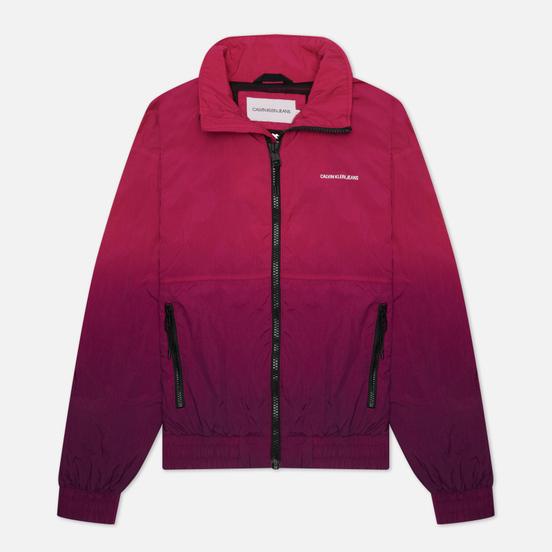 Мужская куртка ветровка Calvin Klein Jeans Dip Dye Gradient Dark Clove