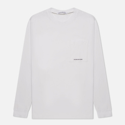 Мужской лонгслив Calvin Klein Jeans Organic Cotton Essentials Bright White