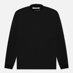 Мужской лонгслив Calvin Klein Jeans Micro Branding High Neck Black