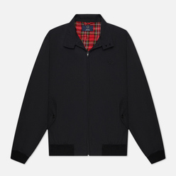 Мужская куртка харрингтон Fred Perry Laurel Made in England Harrington Black