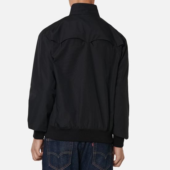 Мужская куртка харрингтон Fred Perry Laurel Made in England Harrington Black