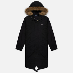 Мужская куртка парка Fred Perry Zip In Liner Black