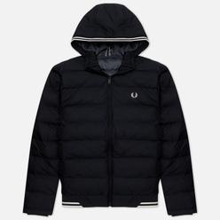 Мужской пуховик Fred Perry Insulated Hooded Black
