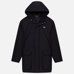 Мужская куртка парка Fred Perry Padded Zip Through Black