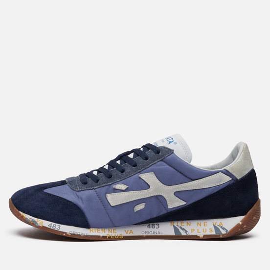 Мужские кроссовки Premiata Jackyx 5246 Blue/Navy