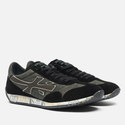 Мужские кроссовки Premiata Jackyx 5497 Grey/Black