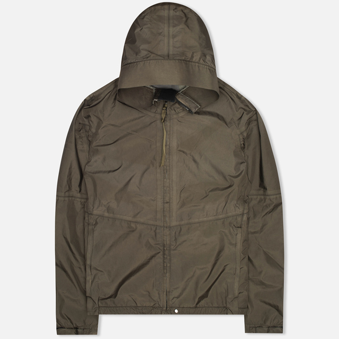 Мужская куртка ветровка Acronym x Nemen J43-K Hardshell Object Dyed 3L Olive