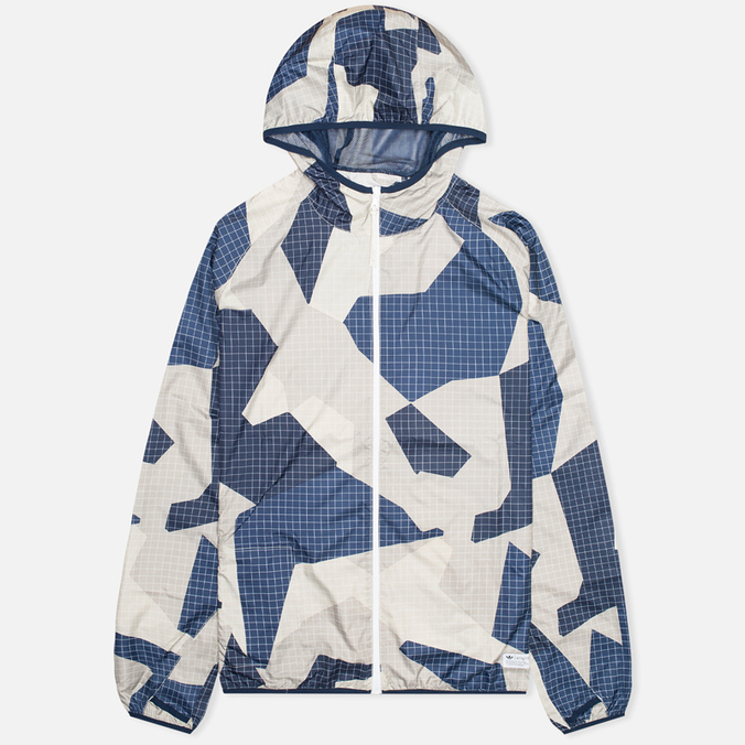 Мужская куртка ветровка adidas Originals M90 Windbreaker Blue