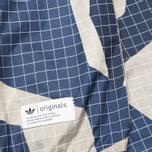 Мужская куртка ветровка adidas Originals M90 Windbreaker Blue фото- 4