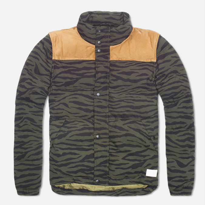 Мужская куртка adidas Originals Tiger Camo Padded Night Cargo/Black