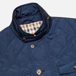 Мужская стеганая куртка Aquascutum Hutchinson Quilted Navy фото- 2