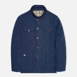 Мужская стеганая куртка Aquascutum Hutchinson Quilted Navy фото- 0