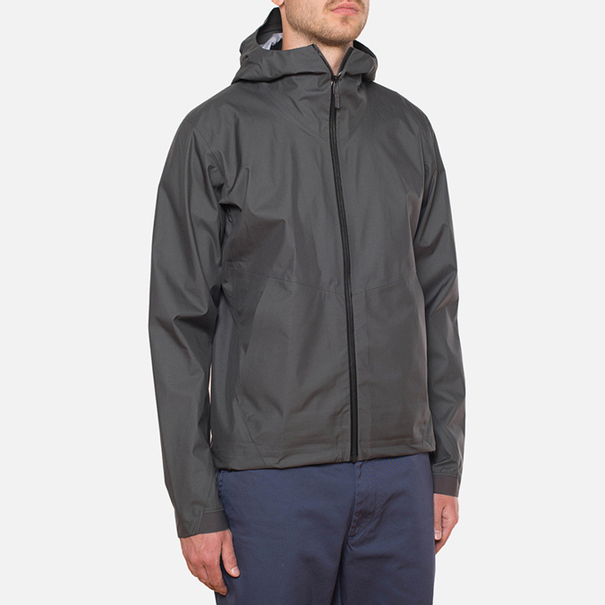 Мужская куртка Arcteryx Veilance Actuator Hooded Jacket Coal