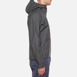 Мужская куртка Arcteryx Veilance Actuator Hooded Jacket Coal фото- 1