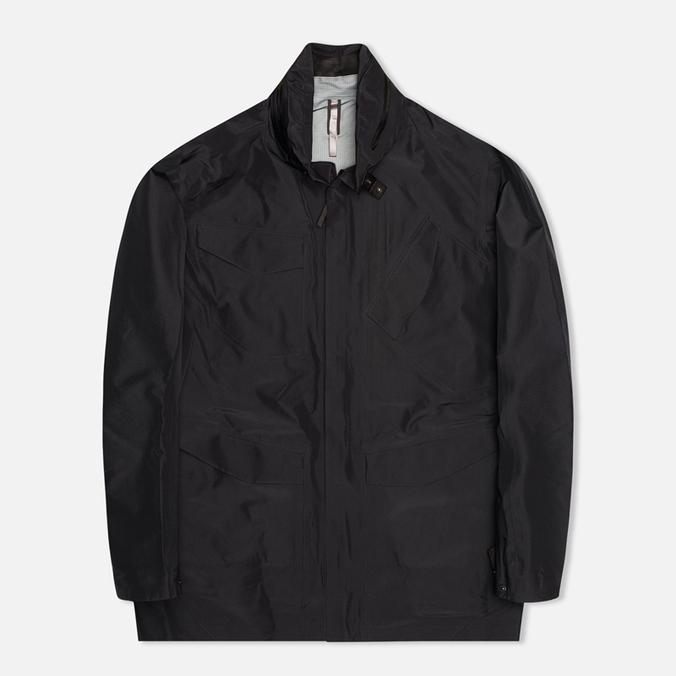 Мужская куртка ветровка Arcteryx Veilance Field LT Black