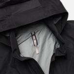 Мужская куртка ветровка Arcteryx Veilance Field LT Black фото- 2