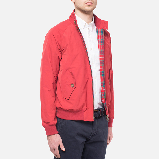 Мужская куртка Baracuta G9 Original Dark Red