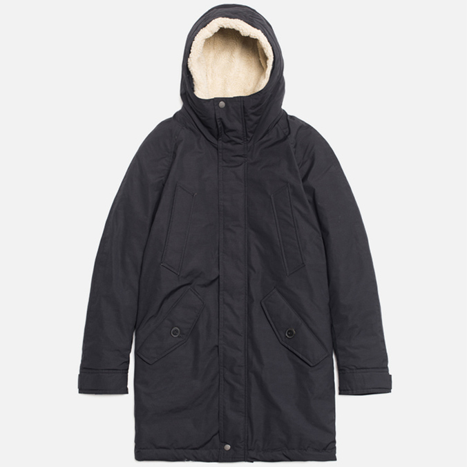 Мужская куртка Baracuta Long Modern Eskimo Dark Navy