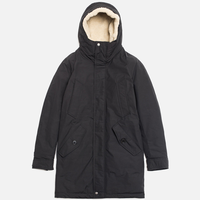 Мужская куртка Baracuta Long Modern Eskimo Faded Black