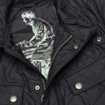 Мужская стеганая куртка Barbour Ariel Quilt Black фото- 2