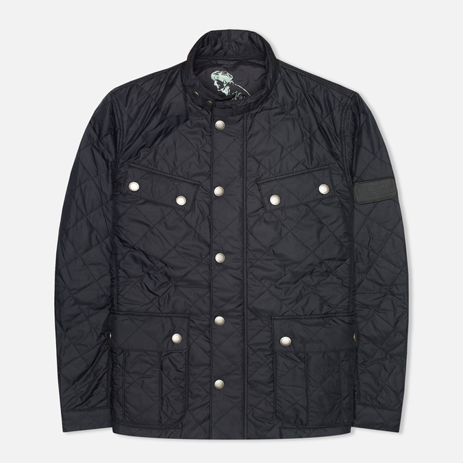 Мужская стеганая куртка Barbour Ariel Quilt Black