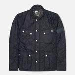 Мужская стеганая куртка Barbour Ariel Quilt Navy фото- 0