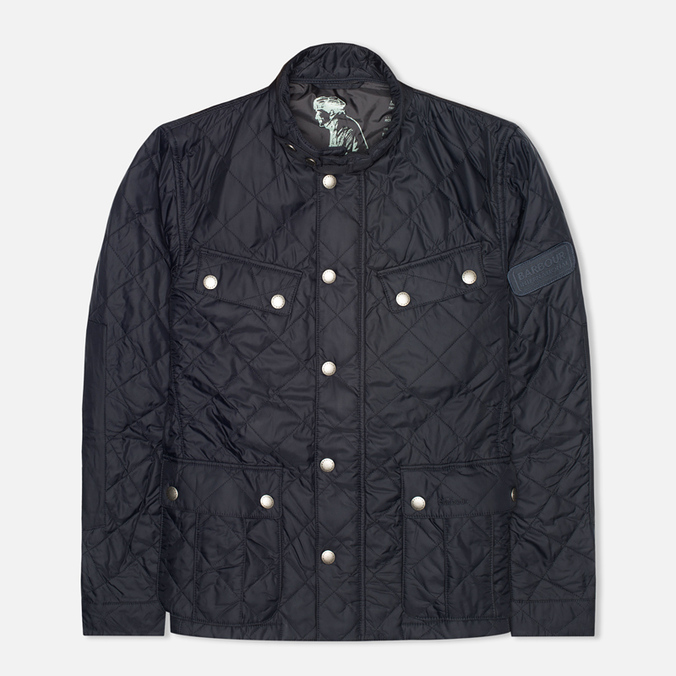 Мужская стеганая куртка Barbour Ariel Quilt Navy