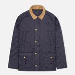 Мужская стеганая куртка Barbour Canterdale Quilt Navy фото- 0