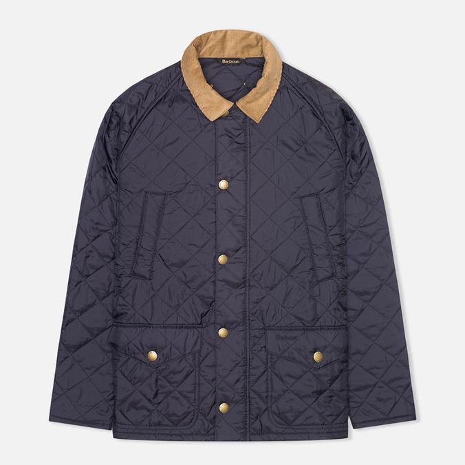 Мужская стеганая куртка Barbour Canterdale Quilt Navy