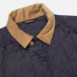 Мужская стеганая куртка Barbour Canterdale Quilt Navy фото- 1