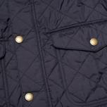 Мужская стеганая куртка Barbour Canterdale Quilt Navy фото- 3