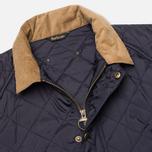 Мужская стеганая куртка Barbour Canterdale Quilt Navy фото- 2